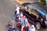 An ninh - Hình sự - Dàn cảnh va quệt xe để cướp ở TP.HCM