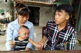 Hoàn cảnh - Bố mẹ nghèo hy vọng phép màu đến với con mắc bệnh tim bẩm sinh