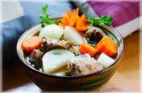 Ăn - Chơi - Củ cải hầm xương ngon ngọt thơm lừng