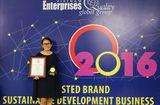 Tài chính - Doanh nghiệp - Oriflame Việt Nam nhận Chỉ số tín nhiệm doanh nghiệp 2016 - Trusted Brand Index