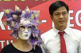 Bí quyết làm giàu - Người phụ nữ đeo mặt nạ lá cây nhận giải độc đắc Vietlott 41 tỷ đồng