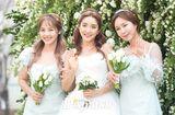 """Tin tức giải trí - Dàn sao """"khủng"""" showbiz Hàn dự đám cưới Bada S.E.S và chồng kém 9 tuổi"""