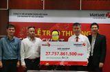Bí quyết làm giàu - Nữ tiểu thương may mắn ở TP. Hồ Chí Minh nhận giải Vietlott 27,7 tỷ đồng