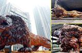 Cộng đồng mạng - Nguồn gốc thú vị về con sư tử 'khổng lồ' gây sốt dân mạng