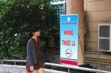 """Y tế sức khỏe - Bệnh viện Đại học Y Hà Nội:""""Nói không với thuốc lá trong khuôn viên bệnh viện"""""""