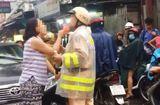 Tình huống pháp luật - Vụ nữ tài xế lăng mạ, túm cổ áo CSGT: Luật sư nói gì?