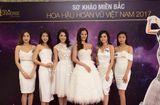 Tin tức giải trí - Thí sinh miền Bắc hội ngộ tại sơ khảo Hoa Hậu Hoàn vũ Việt Nam 2017