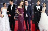 Tin tức giải trí - Các cặp đôi đình đám showbiz Hoa ngữ thi nhau tình tứ trên thảm đỏ