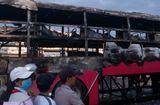 Tin trong nước - Xe khách giường nằm bốc cháy, 30 hành khách hoảng loạn