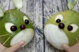 Ăn - Chơi - Cách tỉa thỏ và chuột bằng quả bưởi cho bé bày cỗ Trung thu
