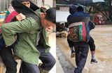 Gia đình - Tình yêu - Cảm động người con U60 cõng mẹ già đi bộ 10km để chữa bệnh suốt 7 năm