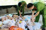 Tin trong nước - Phát hiện gần 1,2 tấn thực phẩm hôi thối trong kho đông lạnh