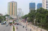 Tin trong nước - Hà Nội: Sẽ xén dải phân cách mở rộng mặt đường Nguyễn Chí Thanh