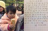 """Tin tức - Bỏ rơi con gái 2 tuổi ở cửa chùa, người mẹ viết thư """"mong thầy đừng cho cháu đi nơi khác"""""""