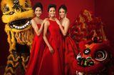 Tin tức - Top 3 Hoa hậu Hoàn vũ Việt Nam 2017 rạng rỡ trong bộ ảnh mừng xuân