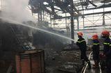 Tin tức - Hà Nội: Nổ lớn nhà máy luyện thép, 2 công nhân nhập viện