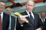 Tin tức - Kho vàng dự trữ hơn 1.800 tấn dưới thời Tổng thống Putin