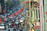 Tin trong nước - Hà Nội ngày mùng 1 Tết: Sáng bình yên, chiều ùn tắc