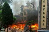 Tin tức - Nguyên nhân đền Mẫu Đồng Đăng bốc cháy dữ dội