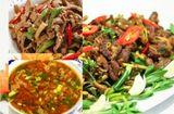 Tin tức - Bữa tối đơn giản với thịt bê xào sả ớt và canh chua thịt băm