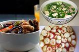 Tin tức - Thịt gà om nấm, canh đậu hũ non nấu hẹ ngọt thanh cho bữa cơm trưa