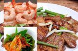 Tin tức - Canh rau muống nấu tôm chua, thịt rang cháy cạnh ngon bữa cơm trưa