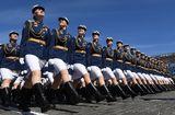 Tin thế giới - Chùm ảnh: Nga duyệt binh kỷ niệm 73 năm chiến thắng phát xít Đức