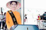 Tin tức - Chi Nguyễn mặc áo bà ba lên đường tham gia Miss Asia World 2018
