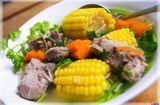 Tin tức - Cách nấu canh sườn hầm ngô thơm ngon, bổ dưỡng