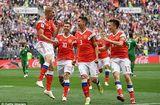 """Tin tức - Kết quả World Cup 2018: Ả Rập Xê Út quá yếu, """"gấu Nga"""" chiến thắng 5 sao"""