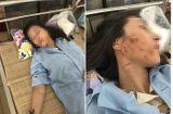 Tin tức - Khởi tố 3 phụ nữ đánh ghen lột đồ, đổ nước mắm vào chủ tiệm spa ở Thanh Hóa