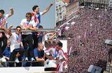 Tin thế giới - Thua trận, ĐT Croatia vẫn được chào đón như người hùng tại quê nhà
