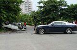 Tin tức - Hy hữu cảnh xe Rolls-Royce Wraith triệu đô bị đâm nát đầu ở Hà Nội