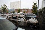 Tin thế giới - Nhóm thanh thiếu niên ở Thụy Điển đốt cháy, phá hoại hơn 100 chiếc xe hơi