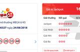 "Tin tức - Kết quả xổ số Vietlott hôm nay 26/8/2018: Xem Jackpot hơn 16 tỷ chơi ""trốn tìm"""