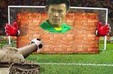 """Tin tức - Ảnh chế Olympic Việt Nam: """"Bức tường"""" Tiến Dũng và """"cầu thủ cao tuổi nhất"""" Văn Toàn"""