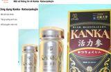 Quyền lợi tiêu dùng - Cảnh báo thực phẩm bảo vệ sức khỏe Kanka trên 1 số website không đảm bảo chất lượng
