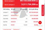Tin tức - Kết quả xổ số Vietlott ngày 29/9/2018: Bộ số kỳ lạ trúng Jackpot hơn 69 tỷ