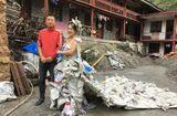 Tin tức - Thôn nữ nổi tiếng nhờ may váy cưới từ vỏ bao xi măng vứt đi
