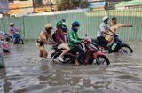 Tin tức - Người dân Sài Gòn loay hoay tìm đường thoát triều cường