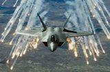 Tin thế giới - Tiêm kích tàng hình F-22 của Mỹ xua đuổi gần 600 máy bay trên bầu trời Syria