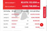 Tin tức - Kết quả xổ số Vietlott hôm nay 13/10/2018: Bộ số kỳ lạ trúng Jackpot hơn 82 tỷ