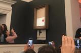 Tin thế giới - Sửng sốt bức tranh được đấu giá 1,4 triệu USD bỗng tự huỷ ngay sau khi chốt giá