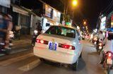 Tin tức - Xe biển 80B bật đèn ưu tiên, hú còi inh ỏi trên đường tới… công ty bất động sản