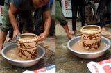 Tin tức - Cận cảnh chiếc bình cổ có hình hổ vờn, bán 400 triệu ở Nghệ An