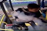 Tin thế giới - Video: Người đàn ông ném bom lên xe buýt khiến 17 người bị thương