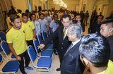 Tin thế giới - Thủ tướng Malaysia mong đội nhà sẽ thắng Việt Nam cả hai trận chung kết