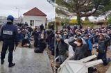 Tin tức - Cảnh sát bắt học sinh biểu tình quỳ khiến người Pháp nổi giận