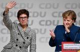 """Tin thế giới - Sau 18 năm dẫn dắt CDU, bà Merkel đã có người """"thừa kế"""""""