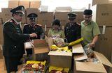 Thị trường - Hà Nội: Thu giữ gần 3 tấn bánh kẹo nhập ngoại không rõ nguồn gốc